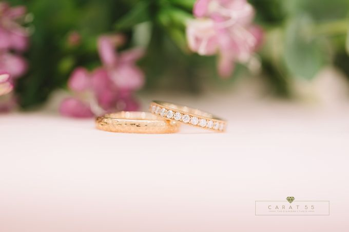 Eternity Wedding Rings by Carat 55 - 001