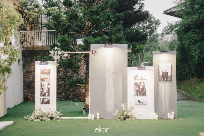 The Wedding Of David & Felicia by Elior Design - 020