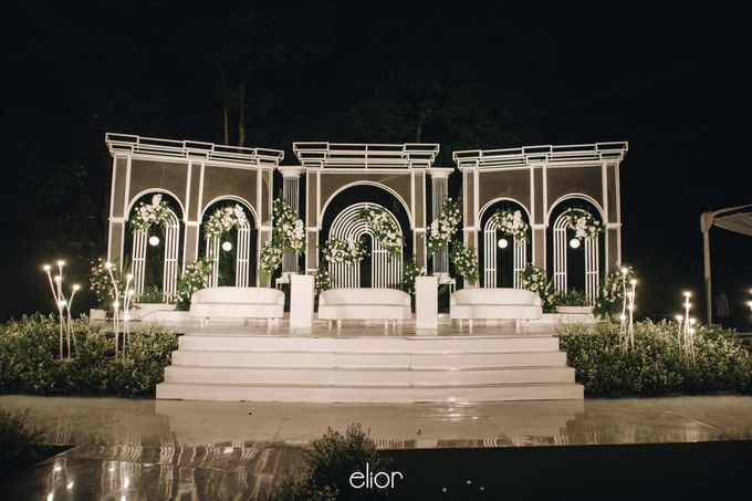 The Wedding of Bela and Didi by Elior Design - 011