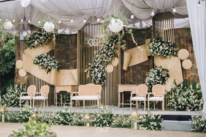 The Wedding of Citra & Deri by Elior Design - 014