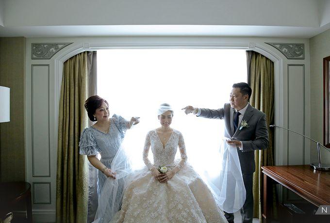Felix & Hanna Wedding by Shangri-La Hotel - 009