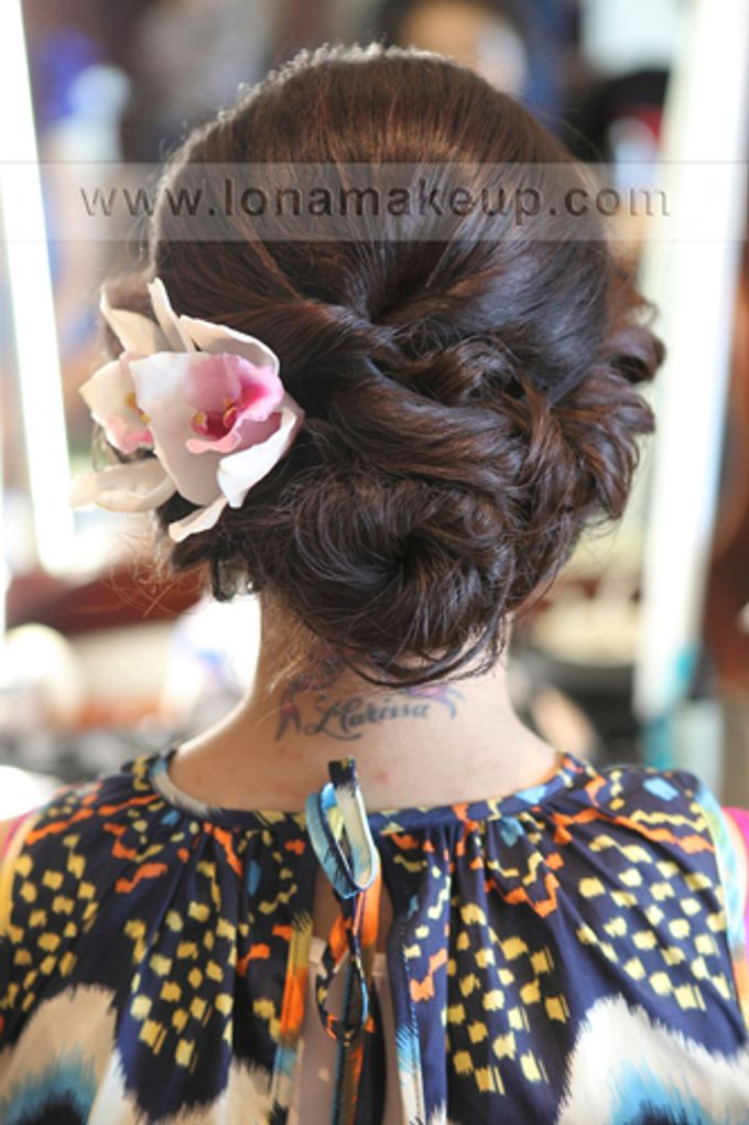 Bridal Hair by Lona Makeup - 002