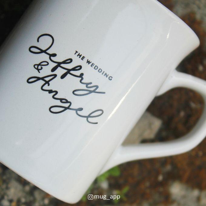 MUG NESCAFE MINI WEDDING JEFFRY & ANGEL by Mug-App Wedding Souvenir - 004