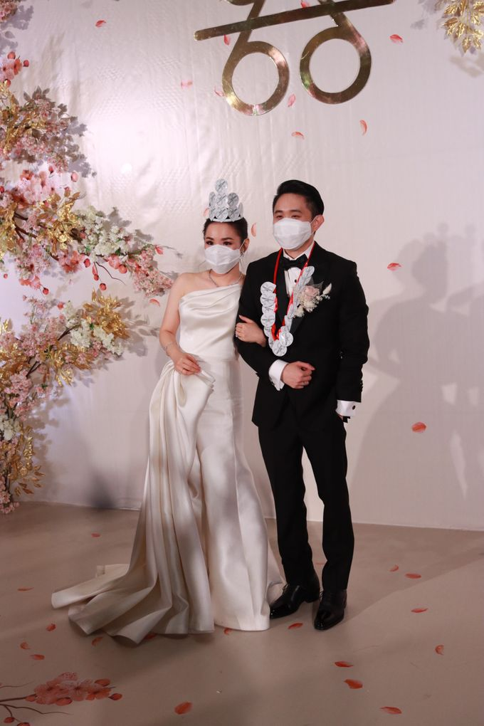 MC Teapai and New Normal Intimate Wedding Fairmont Hotel Jakarta - Anthony Stevven by Anthony Stevven - 025
