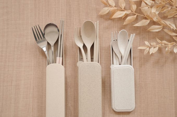 wheat stainless cutlery set by Red Ribbon Gift - 002