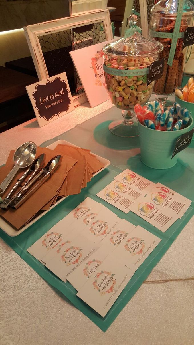 Hedric and Serene by The Lair Weddings Candy Bar - 007