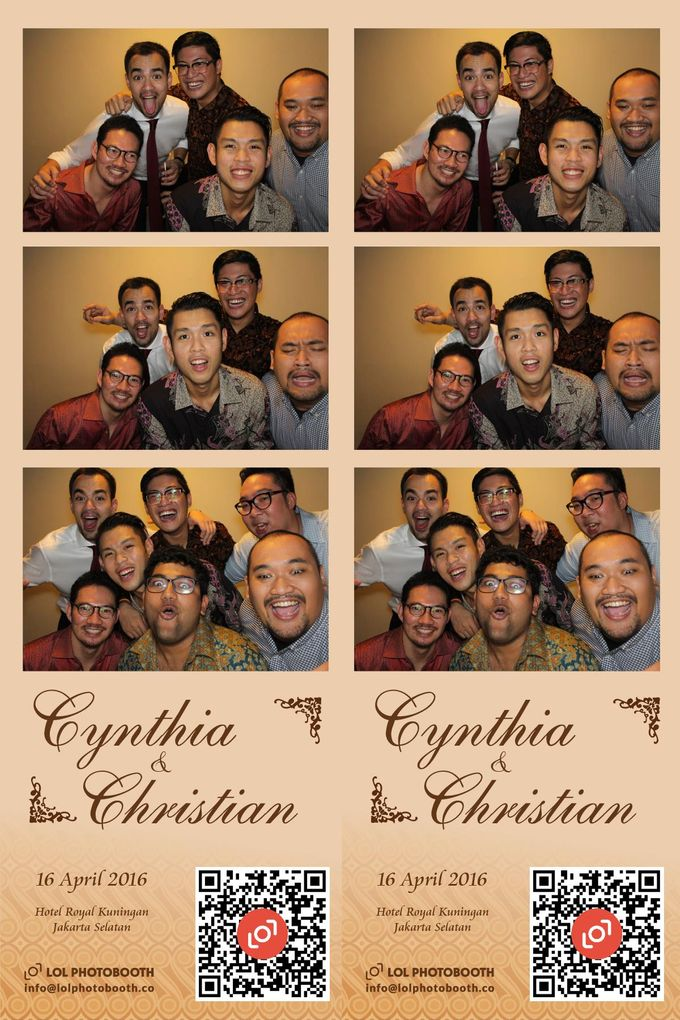 Wedding of C & C by lolphotobooth.co - 006