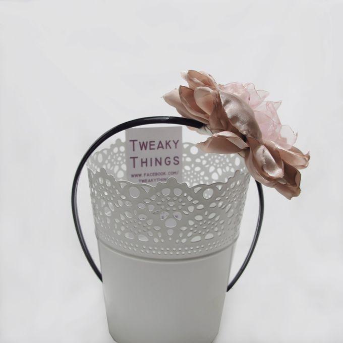 Fabric flower - Headband by TweakyThings - 006