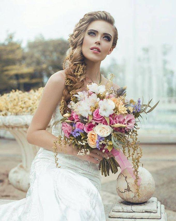 CHARME FAUX BOUQUET by LUX floral design - 014