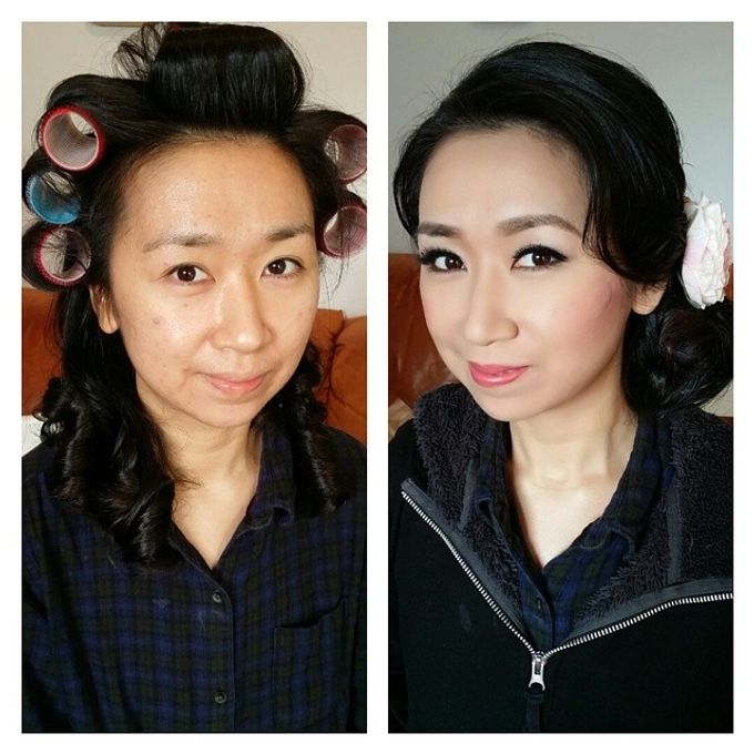 Before and After by Elly Liana Makeup Artist - 010