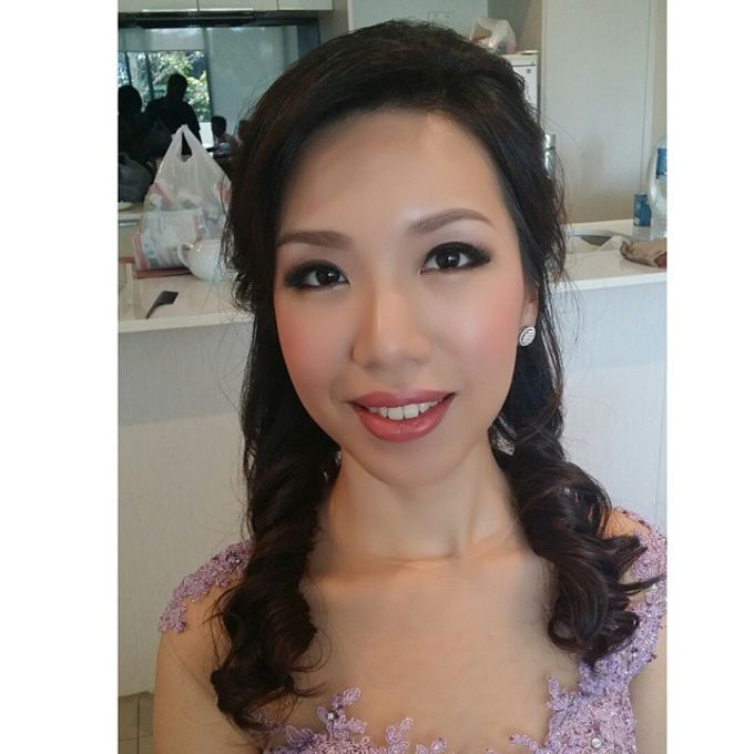 Bridal party makeup by Elly Liana Makeup Artist - 005