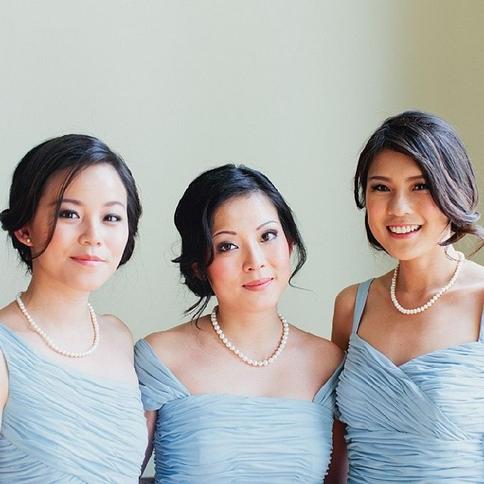 Bridal party makeup by Elly Liana Makeup Artist - 008