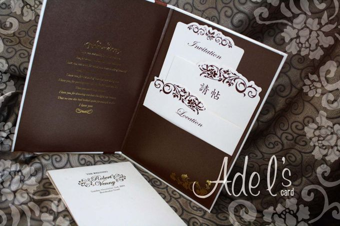 Two Pieces Hard Cover by Adel's House of card - 020