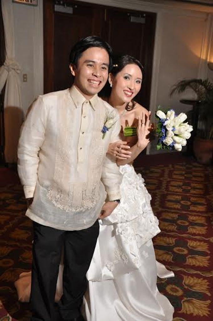 Girlie Chua Wedding by Orlan lopez - 002