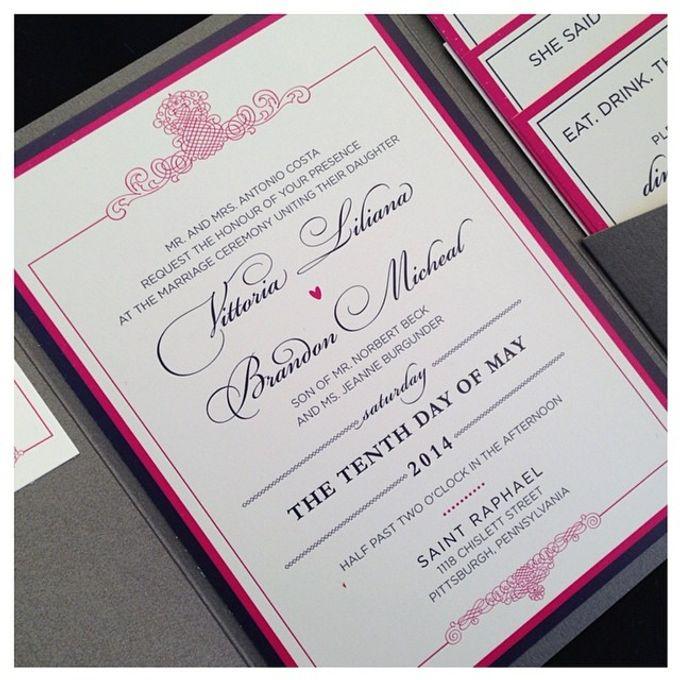 Wedding stationery portfolio  by Hello Beautiful Designs - 033