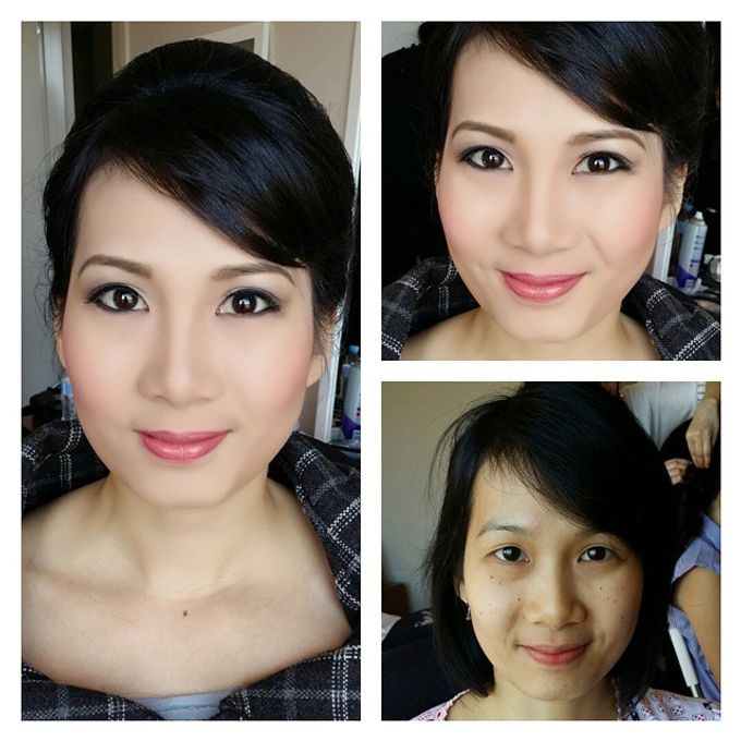 Bridal party makeup by Elly Liana Makeup Artist - 004