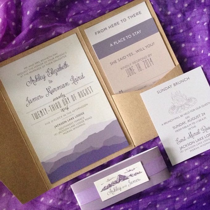 Wedding stationery portfolio  by Hello Beautiful Designs - 029