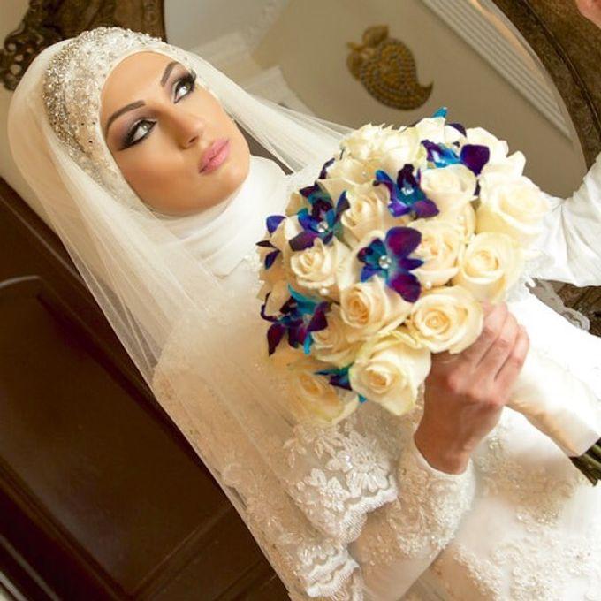 Bridal Hijab Styles by Hijab Styles By Nada - 001