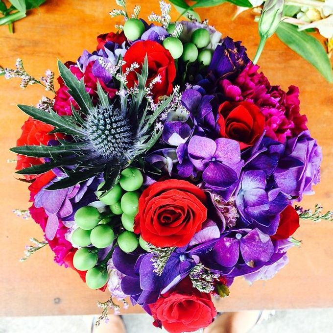 Bouquets  by Weddings by TV - 009