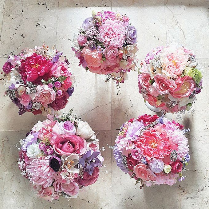 WHIMSICAL WEDDING BOUQUET by LUX floral design - 008
