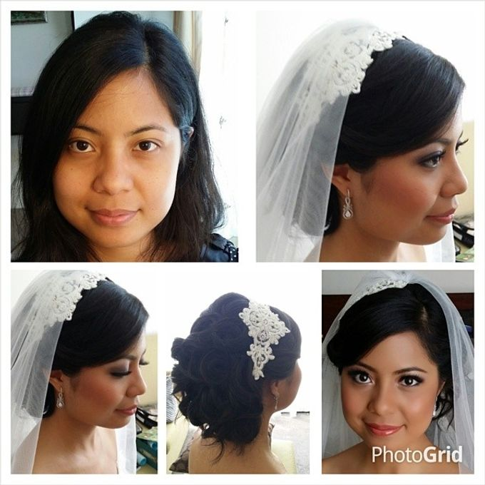Before and After by Elly Liana Makeup Artist - 020