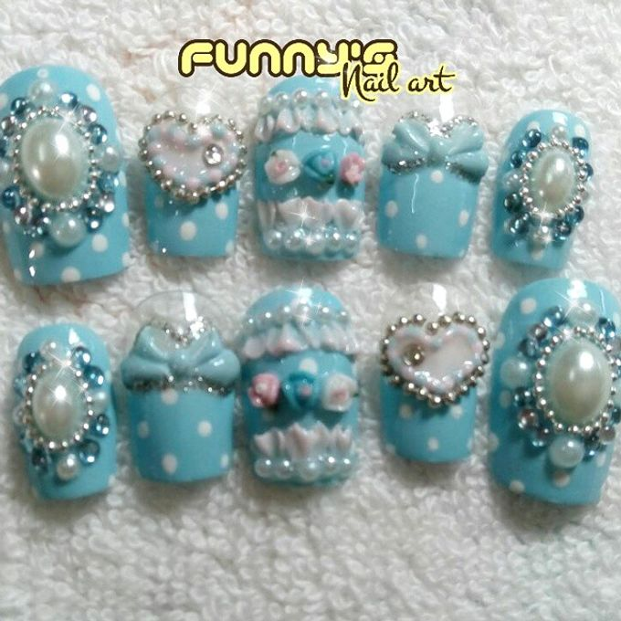 Thanks May 2015 by Funny's Nail art - 038