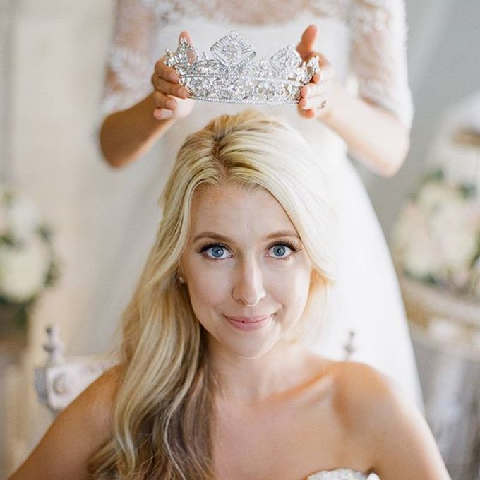 Regal Bridal Crowns and Tiaras and Headpieces by Eden Luxe Bridal - 014
