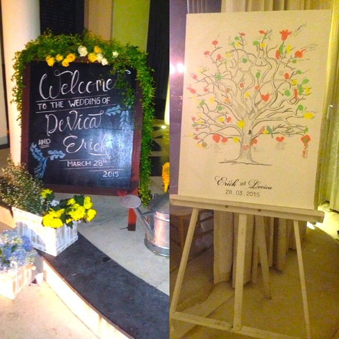 Rustic Style Wedding - Erick & Devica by Magnifica Organizer - 003