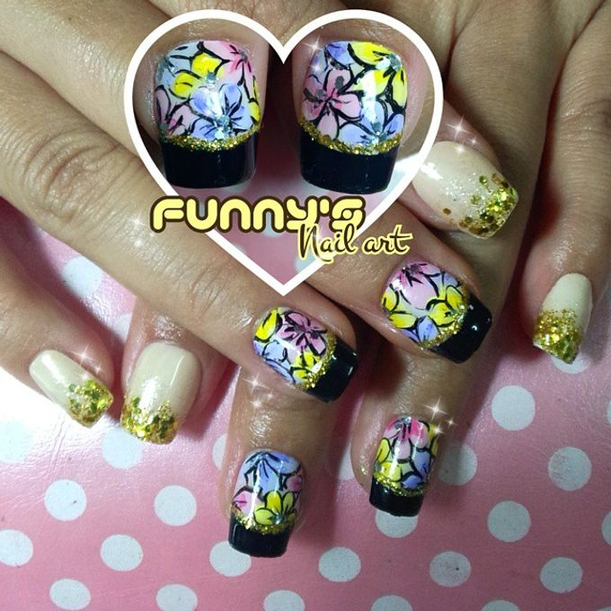 Thanks May 2015 by Funny's Nail art - 032