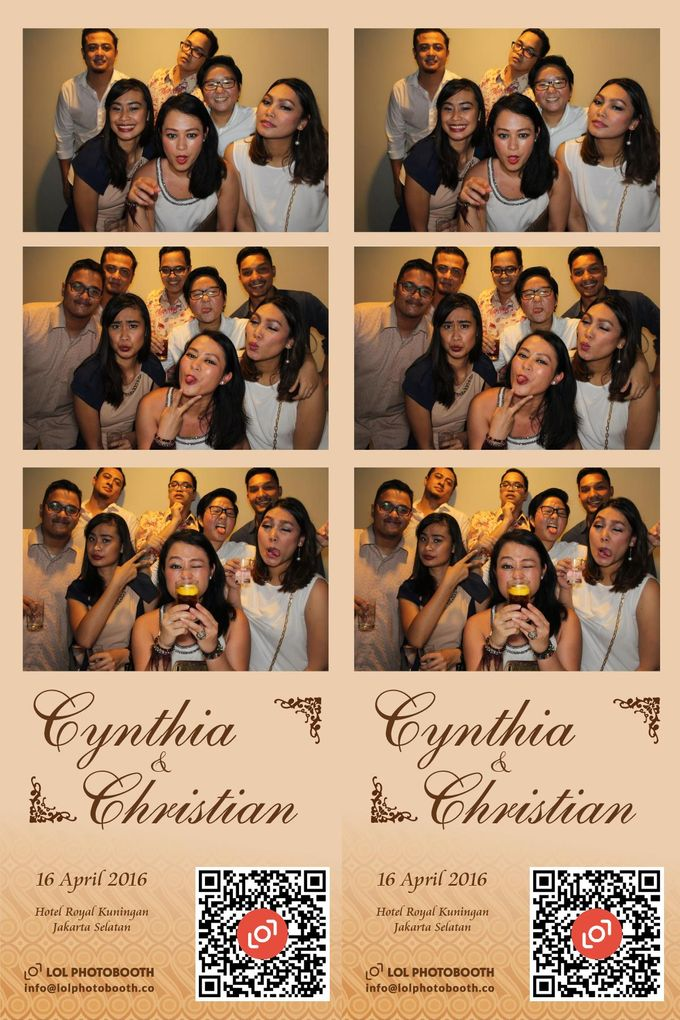 Wedding of C & C by lolphotobooth.co - 008