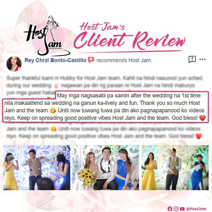 Client Reviews ⭐ by Host Jam - 001