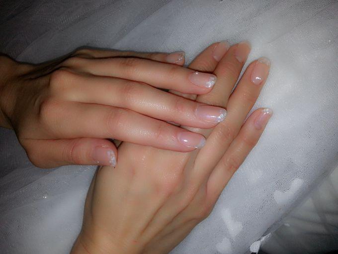Stella Rissa wedding nails by Luz Bello 3D Nail Art-Extension - 001