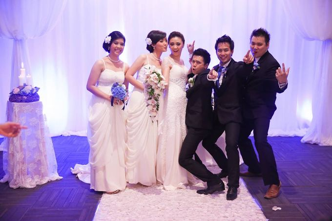 the wedding of Donald & Meliana - 23 Maret 2013 by Full House the organizer & entertainment - 015