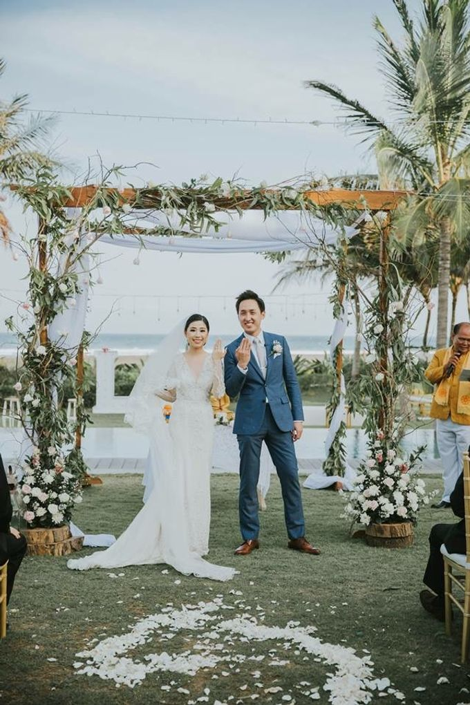 Wedding of Evelyn & Keith by Beyond Decor Company - 037