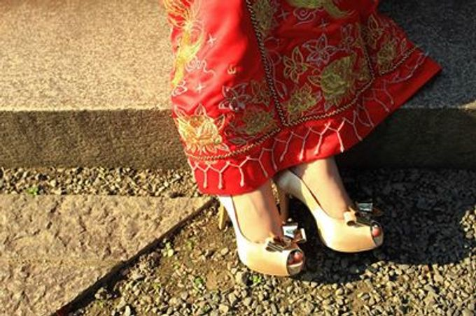 Oriental Chinese Wedding by Christy Ng Shoes - 003