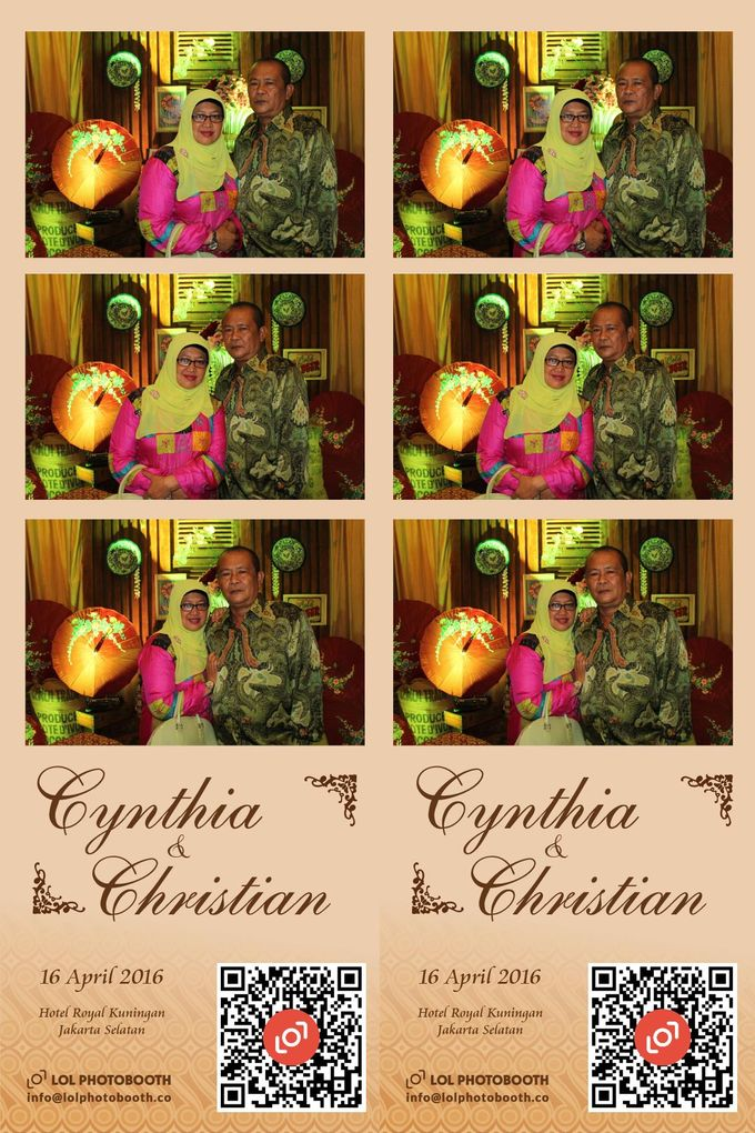 Wedding of C & C by lolphotobooth.co - 010