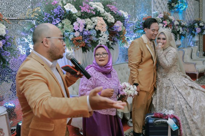 Wedding of Amrina & Farid by Rashdan Planner - 023