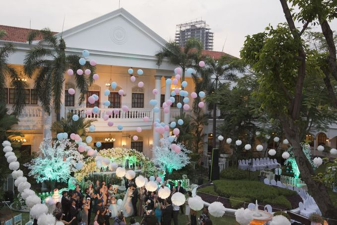 Garden Wedding of Ricky & Inggrid by All Occasions Wedding Planner - 015