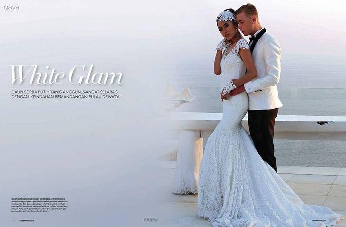 Wedding by Dendy Oktariady Make Up Artist by Ali Charisma - 005