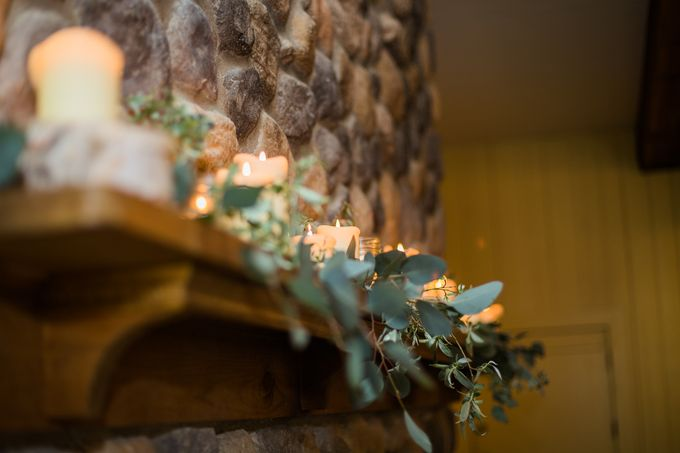Rustic White and Green Wedding by Stone House Creative - 010
