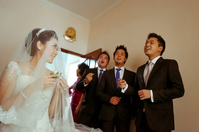 the wedding of Donald & Meliana - 23 Maret 2013 by Full House the organizer & entertainment - 018