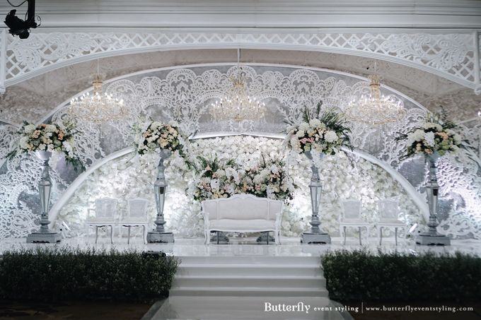 The Wedding of Hananto & Choerunissa by Butterfly Event Styling - 018