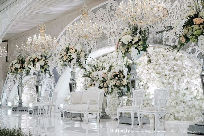 The Wedding of Hananto & Choerunissa by Butterfly Event Styling - 017