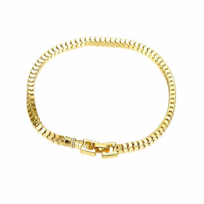 TIARIA Chain Gold Bracelet Perhiasan Gelang Emas by TIARIA - 002