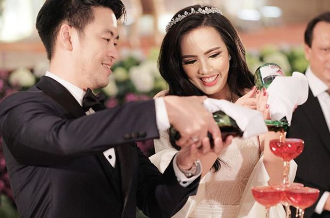 The Wedding of Tasha & Steven by Akasya Catering - 013
