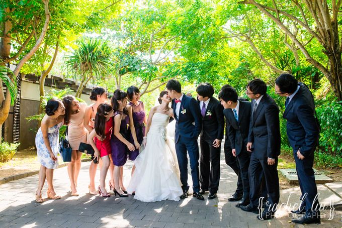 ASHLEY & MICHAEL WEDDING by Banyan Tree Ungasan Resort - 009