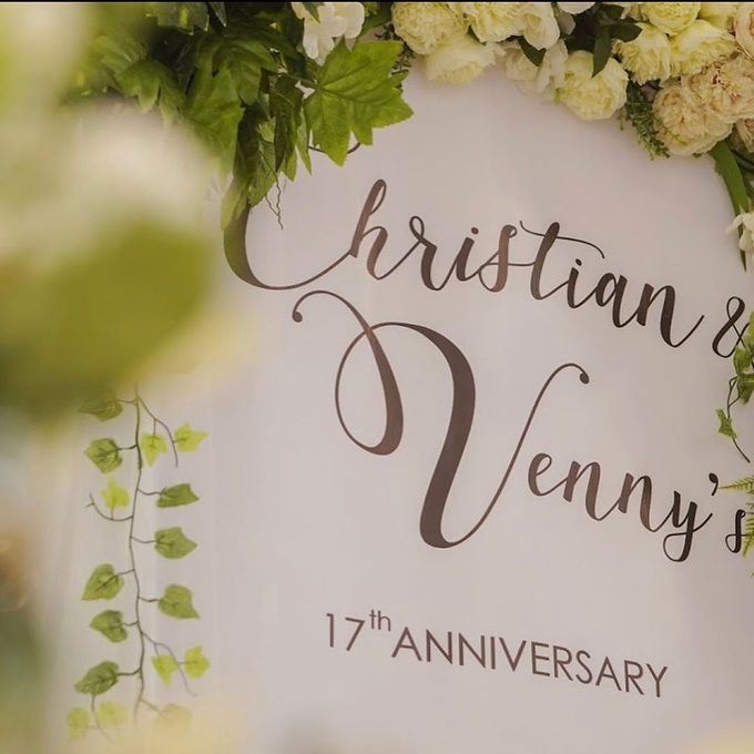 Christian & Venny s 17th Wedding Anniversary by Buttercup Decoration - 004