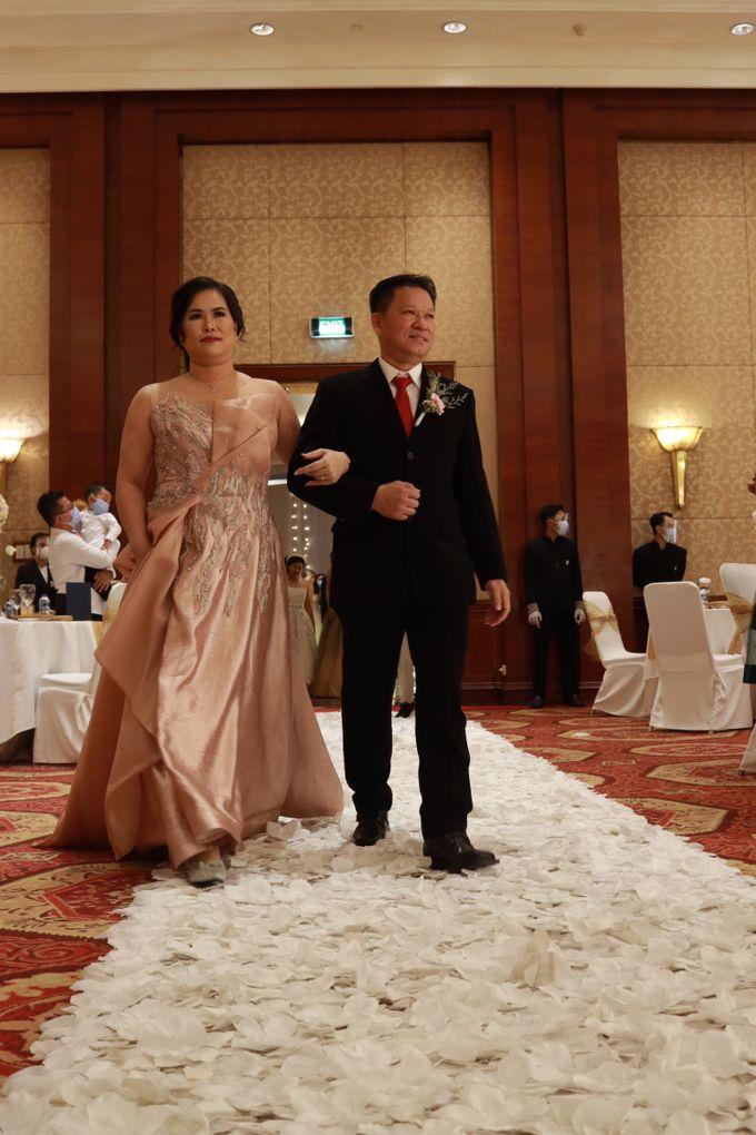 Entertainment Jazz Wedding JW Marriott Jakarta - Double V Entertainment by EIFFEL CAKE - 025