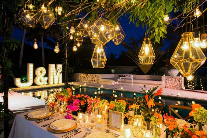 J&M Rustic Glam Cliff Top Wedding by THE UNGASAN CLIFFTOP RESORT BALI  - 027