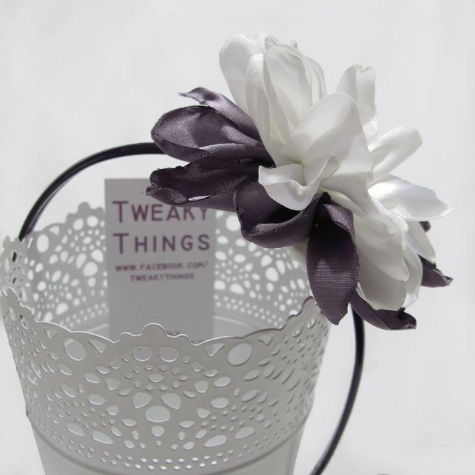 Fabric flower - Headband by TweakyThings - 001